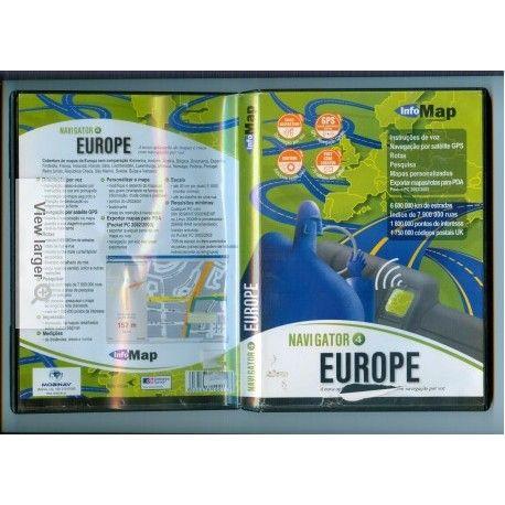 Gps Navigator Mapas da europra
