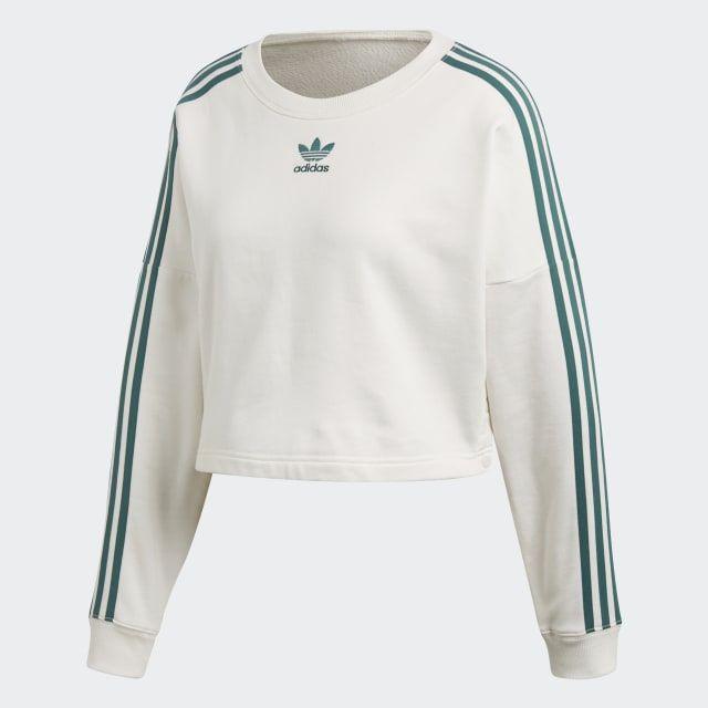 Womens Brasilian Jungle Crop Tops Pullover Sweatshirt Kawaii Long Sleeve Sports Tops