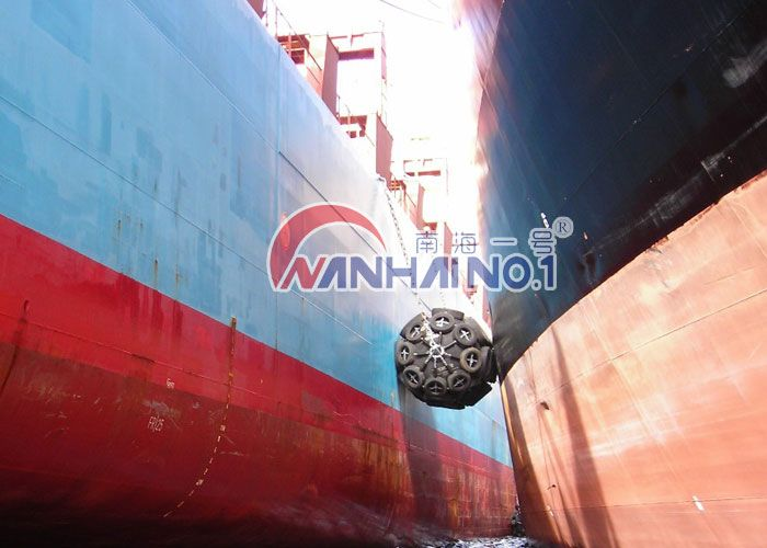ship floating pneumatic rubber fender with ISO 17357 for sale