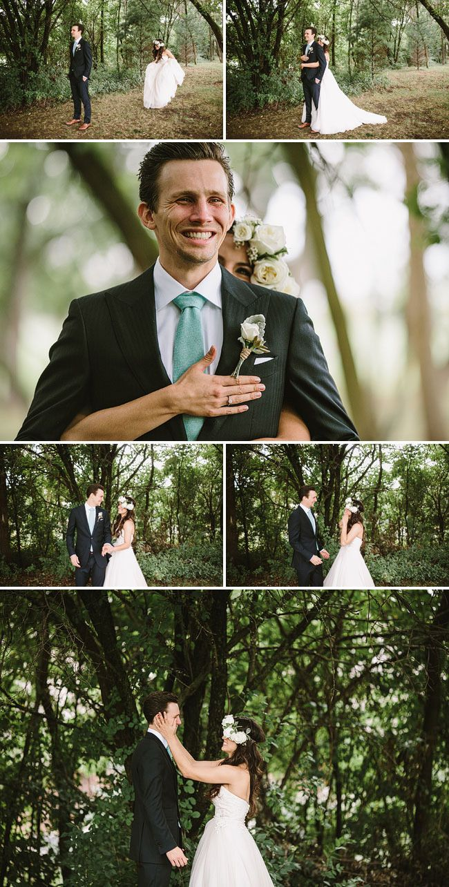 Rustic Spring Weddings, Featuring First Looks / Ruche Blog