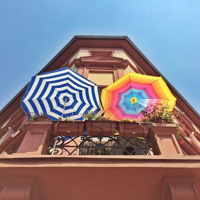Heute in der Mainzer Neustadt. Summer in the City #Mainz #Neustadt #sommer #Gartenfeldplatz #Bagatelle #Heimat #Germany #love #greece