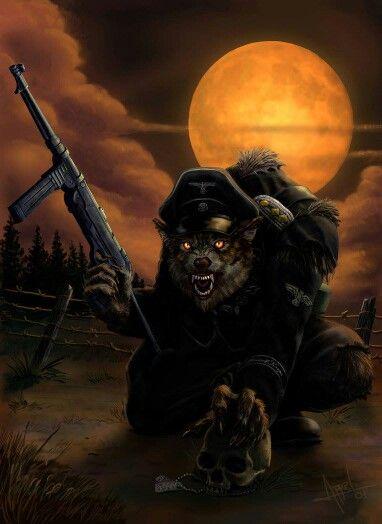 Vlkodlak ve válce