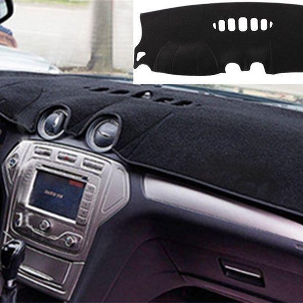 Car Center Console Sun Shade Mat Car Interior Sun Visor For Ford