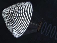 SPS-ALPHA: The First Practical Solar Power Satellite via Arbitrarily Large PHased Array