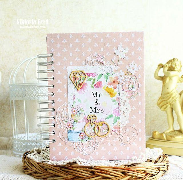 ScrapTop by Viktoria Ferd: Chic Wedding для MoNa Design - свадебный блокнот