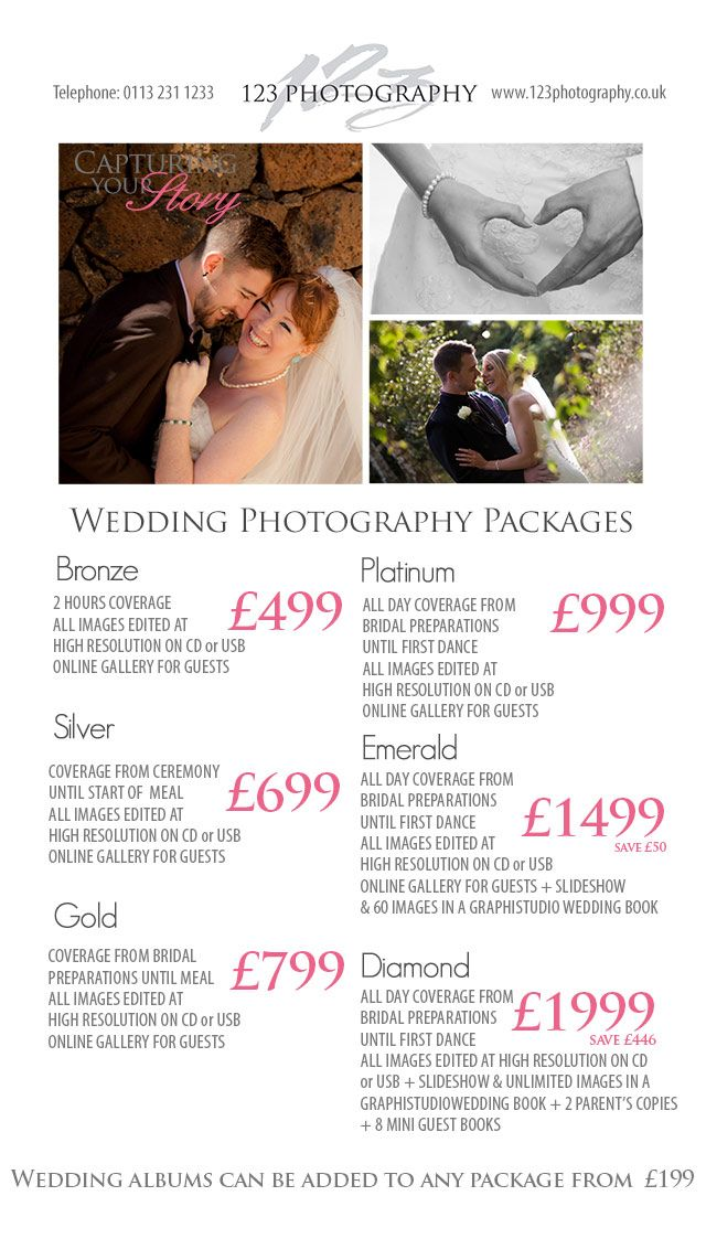 17 best images about photography stuff on pinterest With wedding photography packages pdf