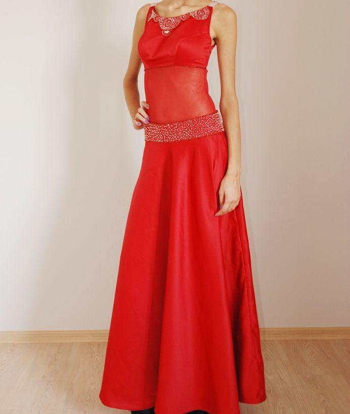 Red dress by BTB (SALE) http://www.butambenlik.com/nisan-elbiseleri/kirmizi-nisan-elbisesi