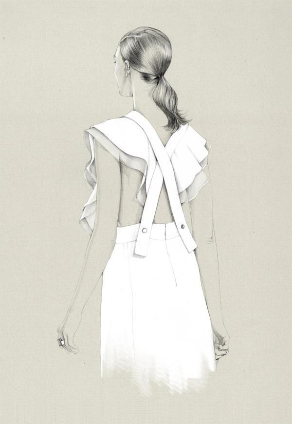 Fashion Illustrations by Caroline Andrieu (4)
