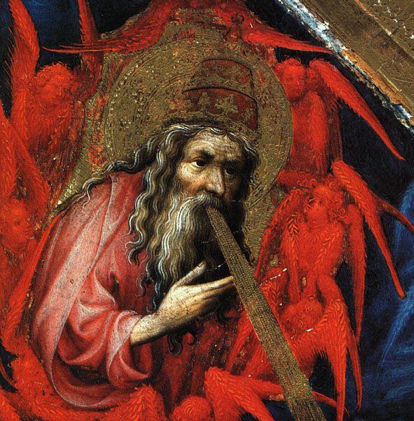 Брудерлам, Мельхиор (BROEDERLAM, Melchior) (Ок. 1328—1409) - (деталь створки Дижонского алтаря)