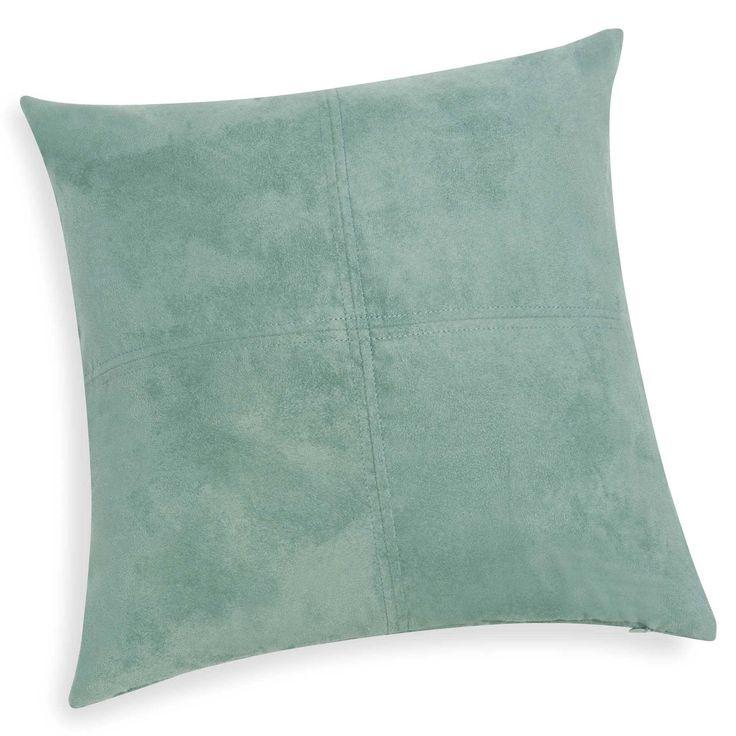 Coussin bleu vert ether 40 x 40 cm SWEDINE