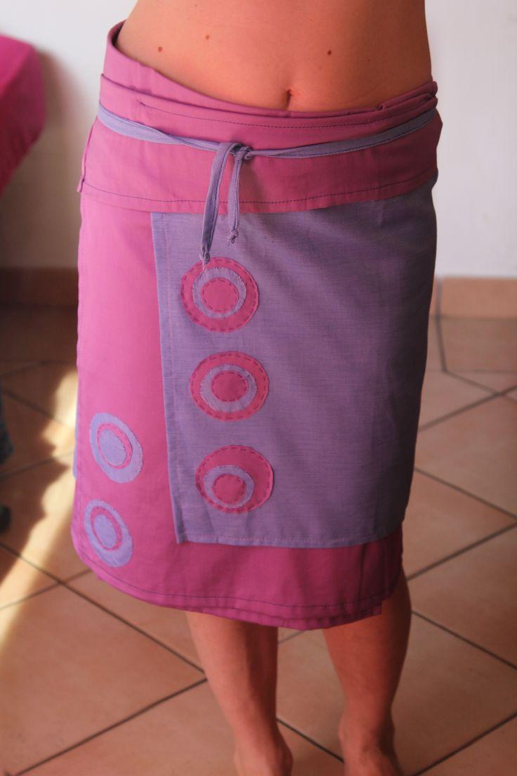 gonna portafoglio in cotone, taglia unica, modello unico e originale, 25 euro