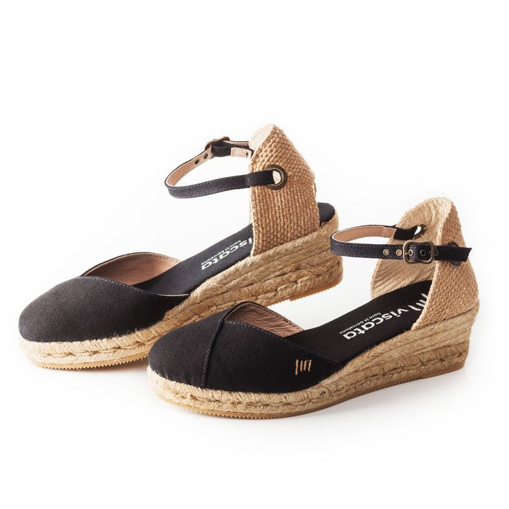 Our Pubol women's espadrille wedges blend traditional, genuine Spanish espadrille style with a fun and innovative design. Made with breathable materials, soft ankle buckle strap, and comfy inner soles