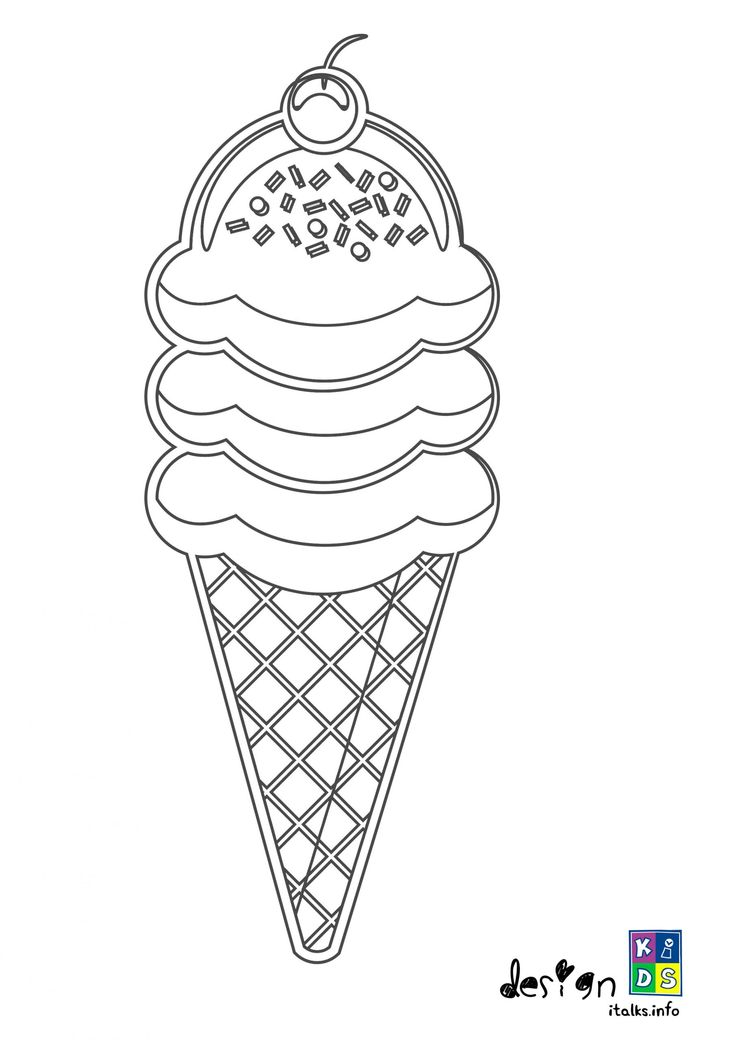 Ice Cream Colouring and Drawing Make your world more ...