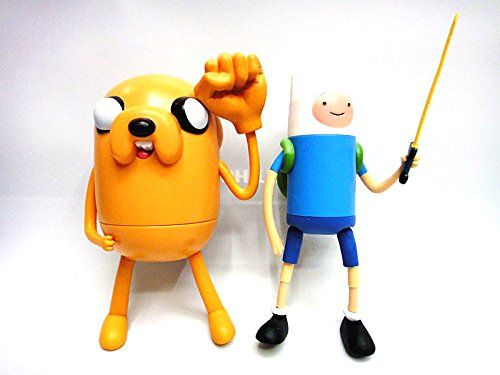 (15cm Ambizu) Adventure Time Finn & Jake Toy Doll Plump Jake Figure Toys 2pcs/lot @ niftywarehouse.com