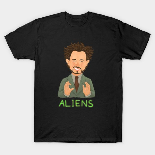 The Real Answer T-Shirt - Ancient Aliens T-Shirt is $14 today at TeePublic!