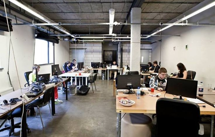 Coworking space colab krakow russia coworking spaces Coworking space design ideas