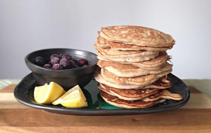 Fluffy Buckwheat & stewed apple pancakes Dairy-free Gluten-free Healthy Recipes