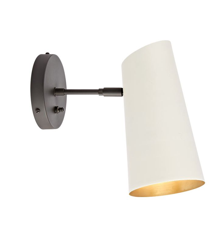 Cypress Small Sconce Oil-Rubbed Bronze with Brass Shades