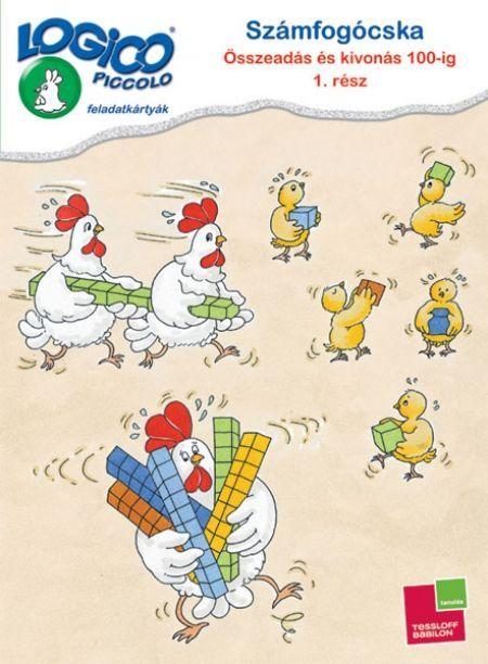 LOGICO Piccolo 3480 - Számfogócska: Összeadás és kivonás 100-ig 1. rész
