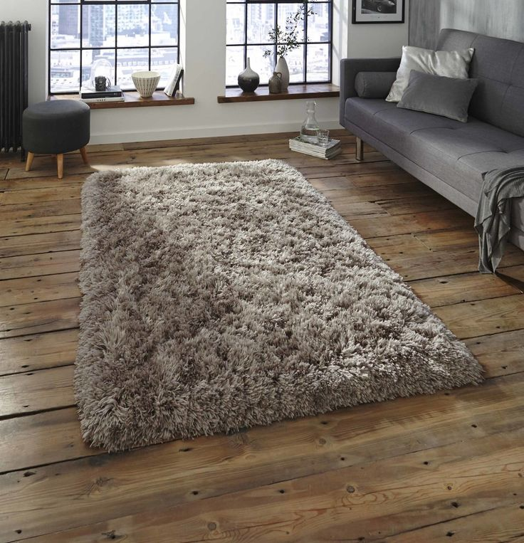 Nordic Thick Shaggy Soft Rugs Middle Grey Rug