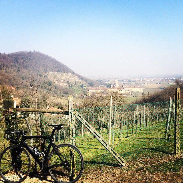 @federico_bertocco In bici sui Colli Euganei | Thermae Abano Montegrotto