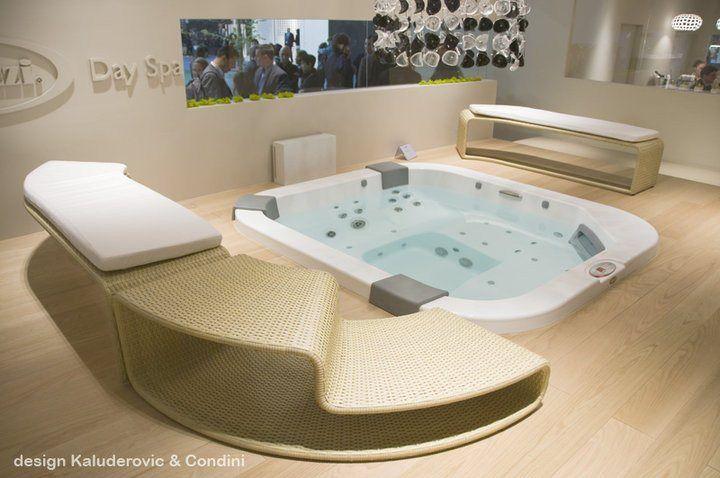 17 meilleures images propos de un spa chez soi sur pinterest chalets interieur et salle de bain. Black Bedroom Furniture Sets. Home Design Ideas
