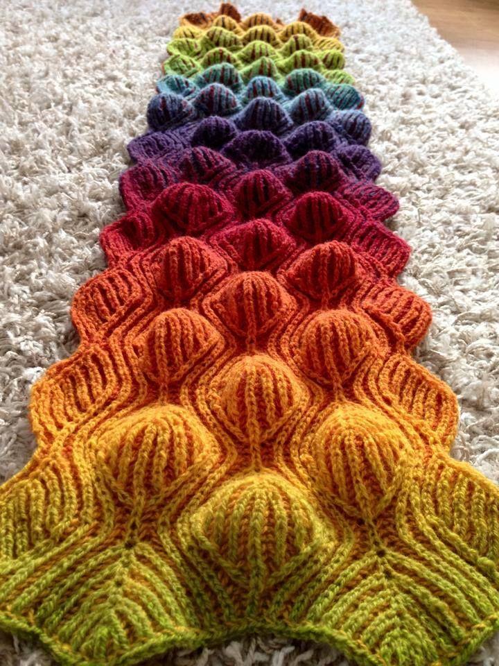 Knitting Stitches Knit One Below : 17 migliori immagini su Cable, aran, brioche, fishermans rib, knit one b...