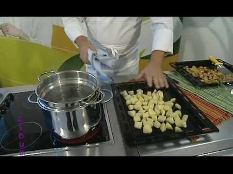 Come preparare le patate arrosto - Fabio Campoli - Squisitalia - YouTube