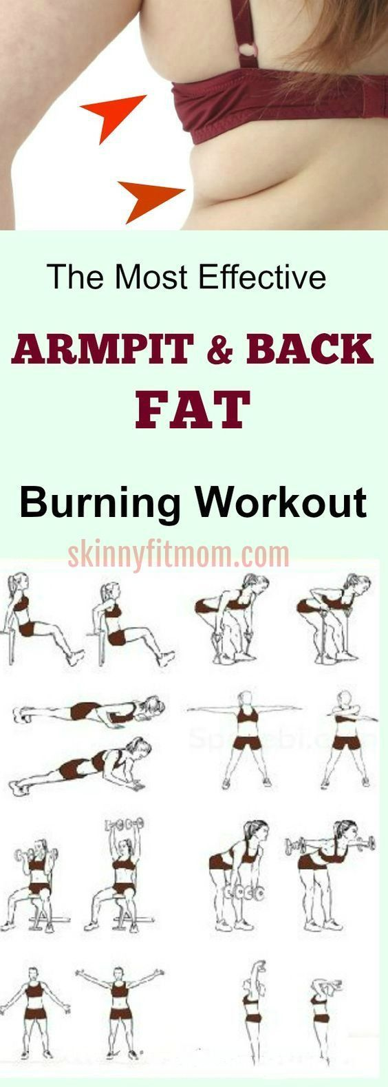 7 Best Exercises To Lose Arm And Back Fat