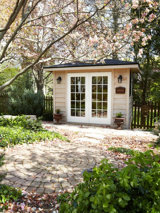 traditional garage and shed backyard cottage design pictures remodel