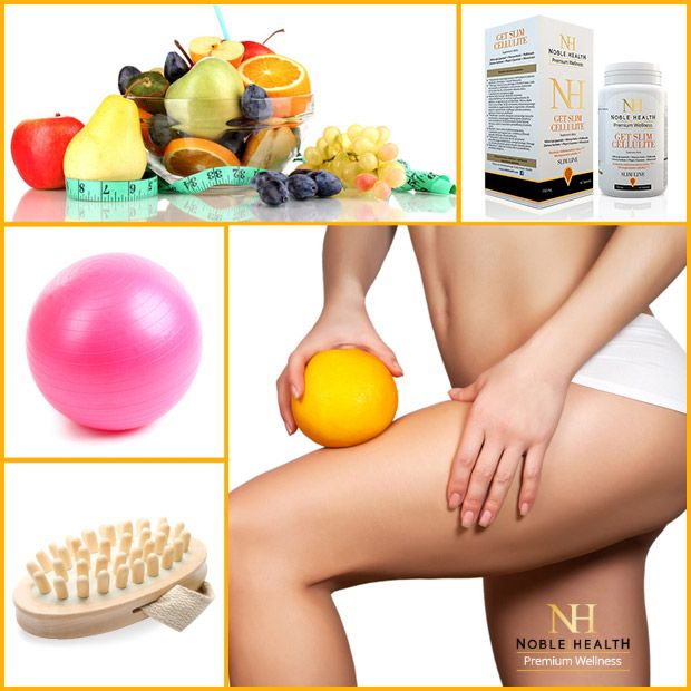 5 sposobów na cellulit  #noblehealth #getslimcellulite #masaże #dieta #trening