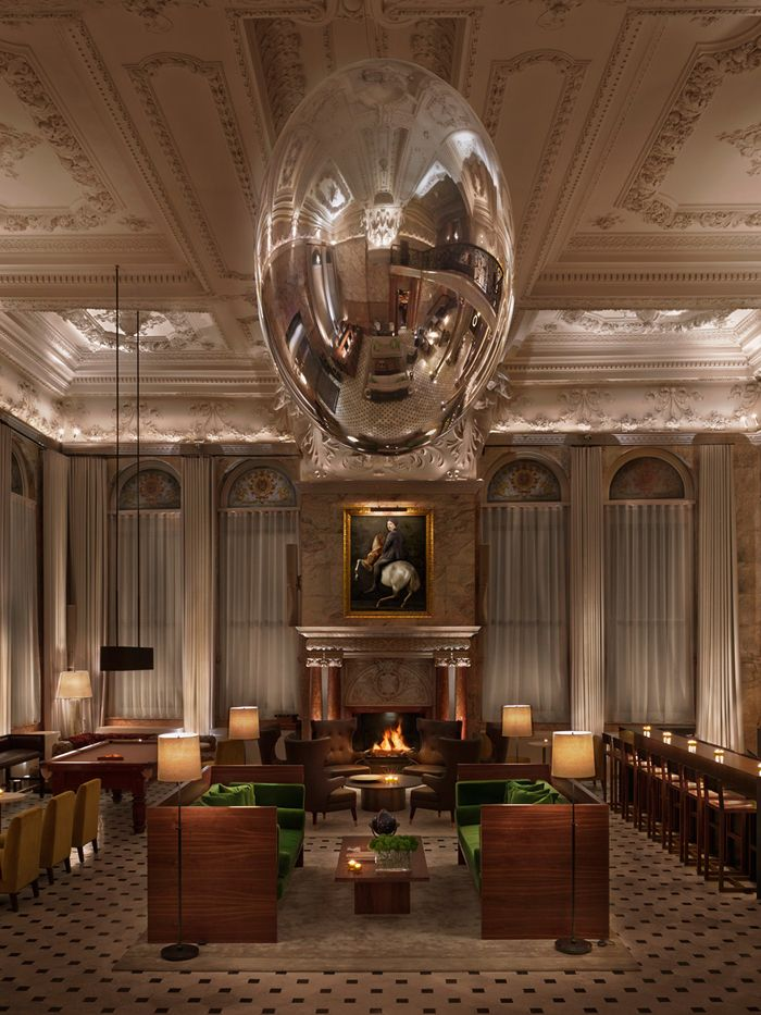 The London Edition Hotel by Yabu Pushelberg and Ian Schrager.
