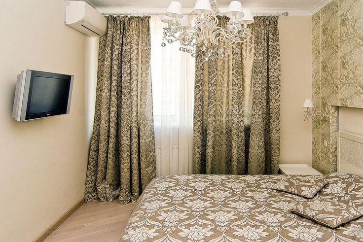 Шторы в спальню.  Идеи дизайна штор для спальни – новинки 2016.