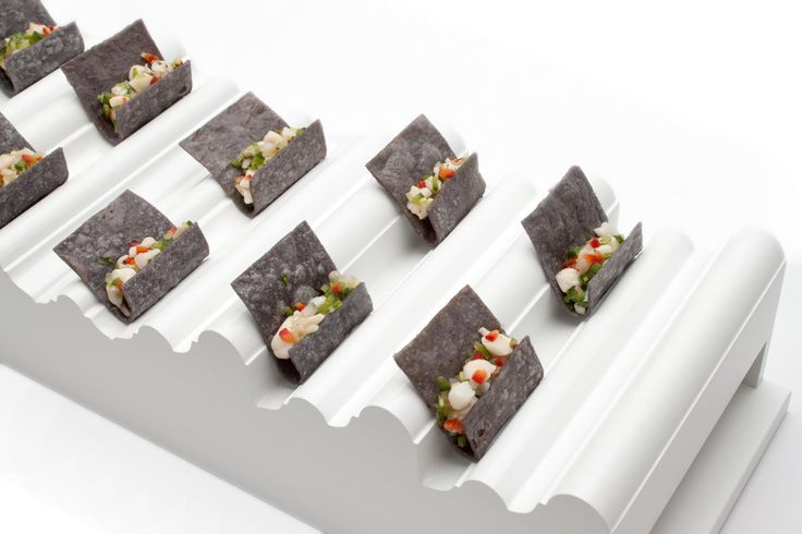 Scallop ceviche  New wave Tray  Pinch Food Design