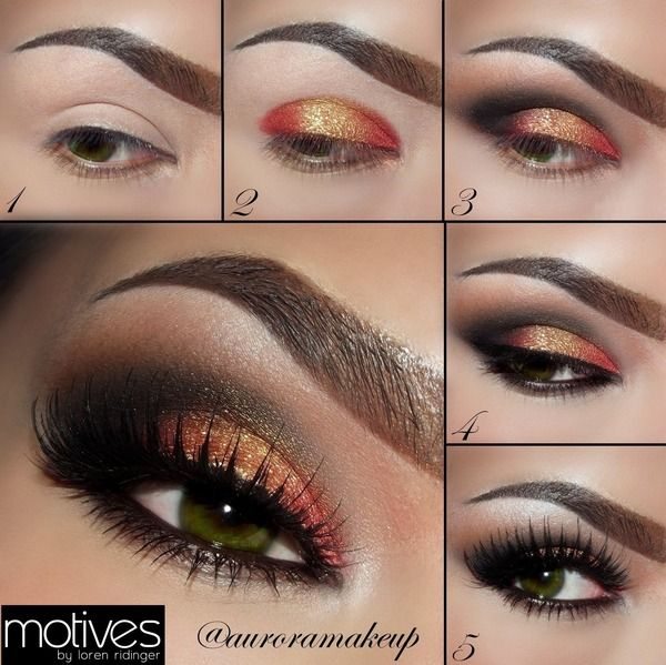 Pictorial - Copper & Gold For Green Eyes