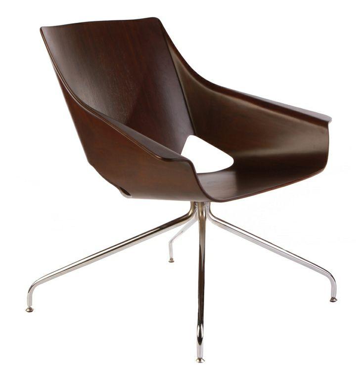 Herman Lounge Chair - Matt Blatt