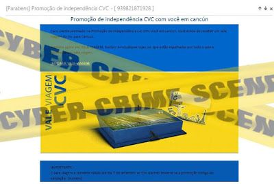 Muralha Informática: [Parabéns] Promoção de independência CVC - [ 93982...