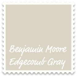 "Benjamin Moore Edgecomb Gray - ""tan-y warm greige"" rather than a cool gray.  ""great neutral that turns almost creamy when bathed in natural light"" ""perfect marriage with wood tones""""in artificial light, it's bright and warm at the same time"": Wall Colors, Dining Room, Moore Edgecomb, Edgecomb Gray, Living Room, Paint Colors, Master Bedroom, Bm Edgecomb, Benjamin Moore"