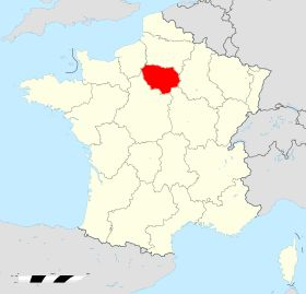 Localisation de Île-de-France
