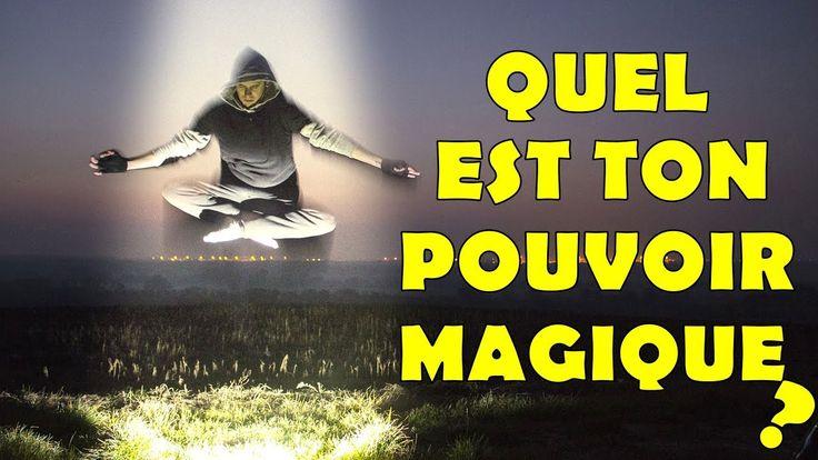 DÉCOUVRE TON POUVOIR MAGIQUE