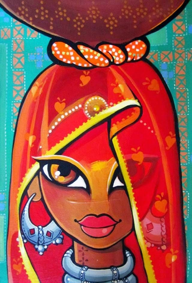 17 Best images about Indian Women-Inspired Art on ...