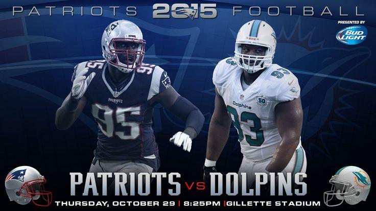 Patriots vs Dolphins #DivisionRivals #Patriots #MIAvsNE