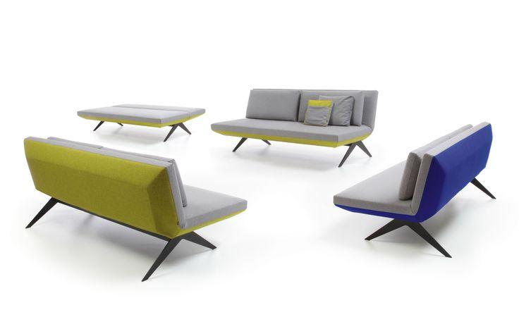 Sofa LCD. Projekt: Renata Kalarus. Zdjęcie do katalogu NOTI.