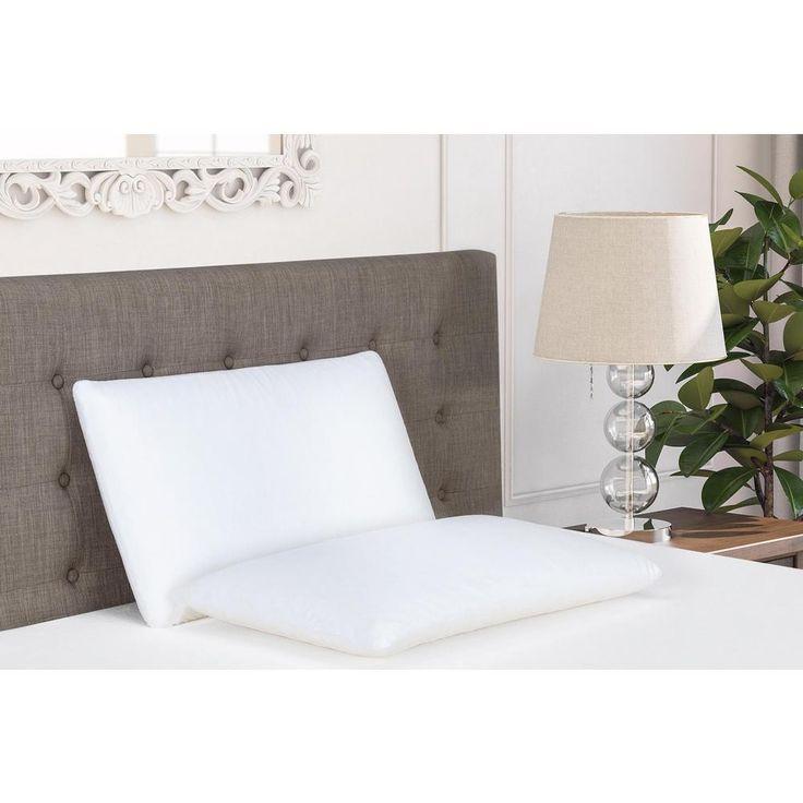 Classic Memory Foam Standard Size Pillow, White