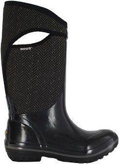 Bogs Women's Plimsoll Herringbone Tall Waterproof Winter Boot at Famous Footwear SIZE 7