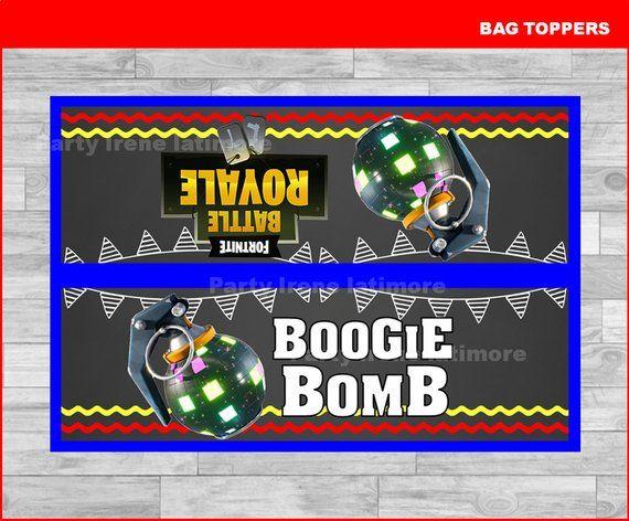 5x Fortnite Birthday, Impulse Grenade, Boogie Bomb, V-Bucks