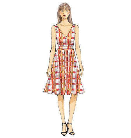Vogue dress 9053 image 2