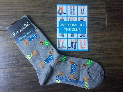 Good Luck Sock Review - September 2017 - Canadian Sock Subscription + PROMO CODE