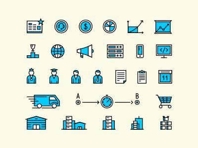IT & Marketing icons by Igor Petrov