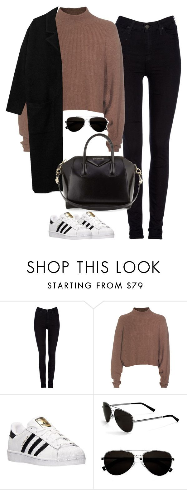 """""""Untitled #456"""" by christyandnef on Polyvore featuring Lee, Acne Studios, adidas, Calvin Klein, Givenchy, women's clothing, women, female, woman and misses"""